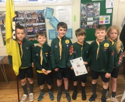 2019 Pinkneys Green Winter Hill Cubs Winners Flag Competition