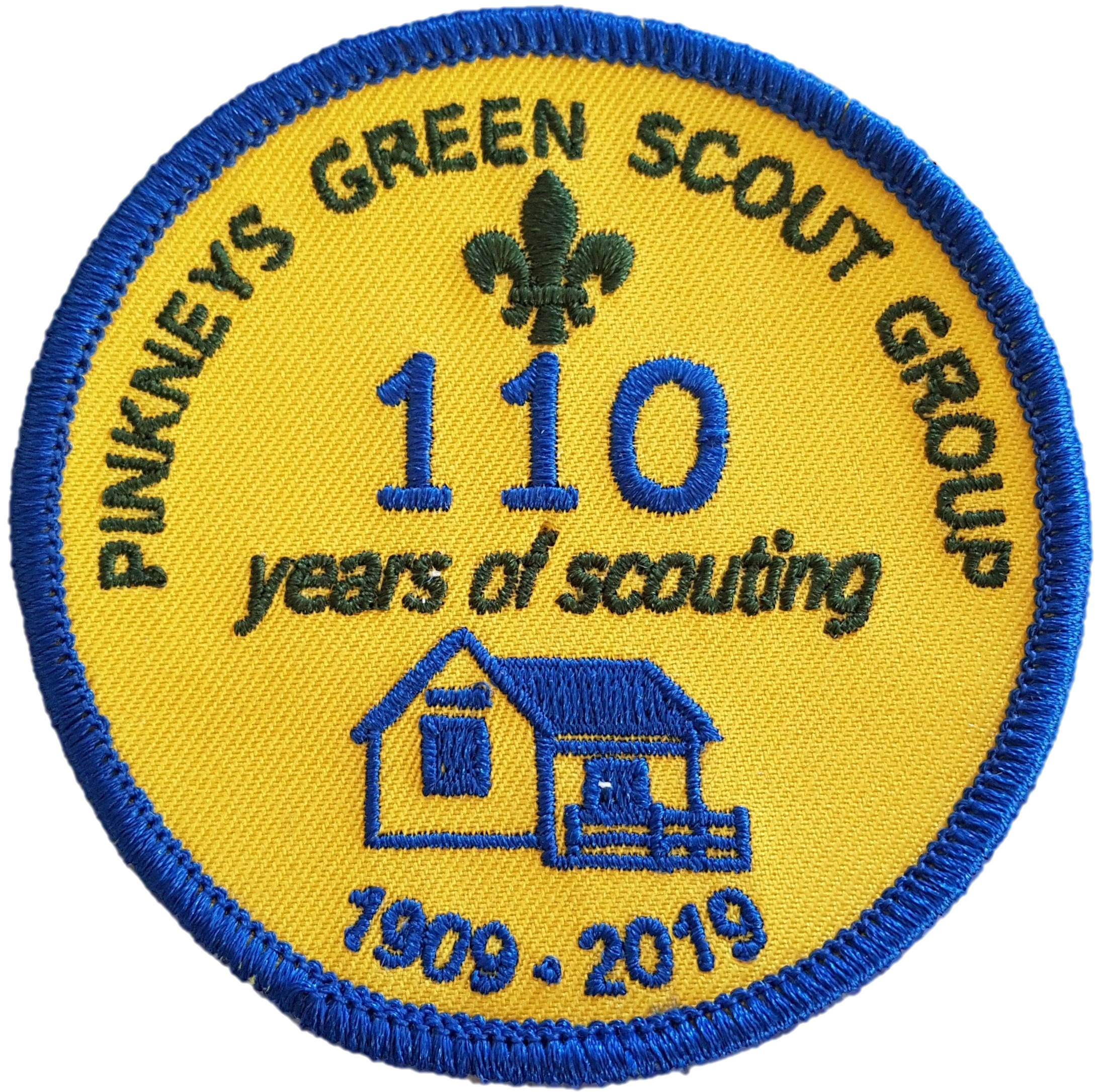 Pinkneys Green Scouts 110 Birthday