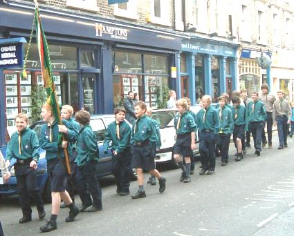 St Georges Day Parade -  2006 - Pinkneys Green Scouts